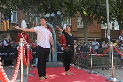 Baile de homenaje del Esbart (foto: Localpres)