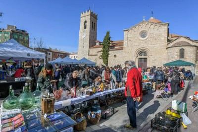 La reutilización de objetos ha sido uno de los ejes de la jornada (foto: Ayuntamiento de Rubí - Localpres).