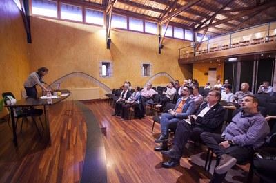 La Comisión de Fiesta Mayor se ha reunido en el MMUC (foto: Localpres).