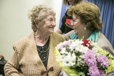 De Montserrat Felisart han destacado su personalidad activa y trabajadora (foto: Ayuntamiento – Lali Puig)