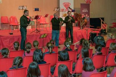 El concierto de Santa Cecilia tendrá lugar el 22 de noviembre en el Teatro Municipal La Sala de Rubí (Foto: La Cobla Marinada).