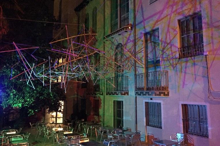 Montaje en la Casa Baumann (foto: edRa)
