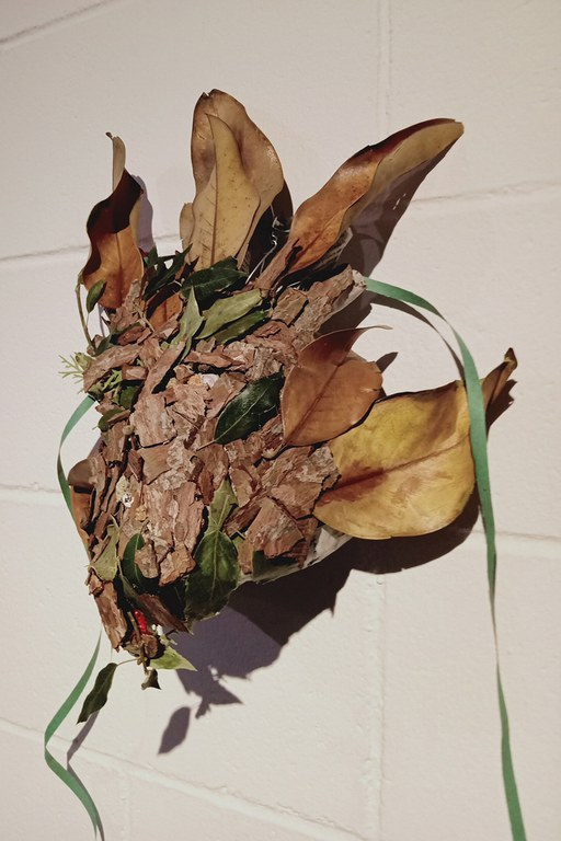 Máscara ganadora en la categoría C, de Carlos Tendero (foto: Ayuntamiento)