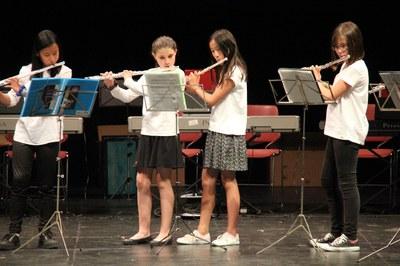 El concierto de clausura del curso contará con actuaciones los grupos instrumentales (foto: Escuela Municipal de Música Pere Burés).