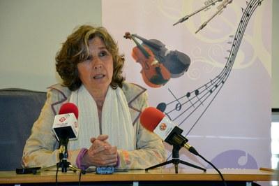 Susana Fernández, directora de la Escuela Municipal de Música Pere Burés.