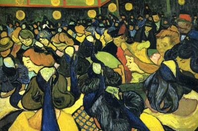 La Escuela Municipal de Música Pere Burés se ha inspirado en la visión artística de Van Gogh.