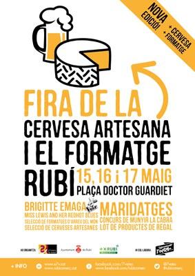 Cartel de la 2ª Feria de la cerveza artesana y el queso