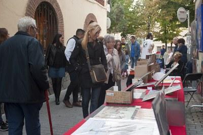 La calle Xercavins es un de los espacios dedicados al arte (foto: Cesar Font).