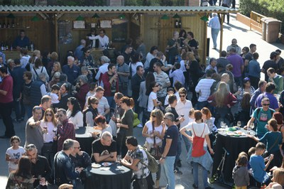 La Feria del Vino llenará de nuevo el en torno de El Celler (foto: Ayuntamiento de Rubí - Localpres).