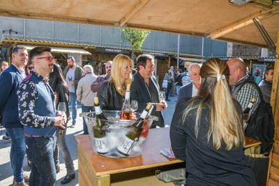 La Feria del Vino ha servido más de 15.000 degustaciones (foto:Ayuntamiento de Rubí - Localpres).
