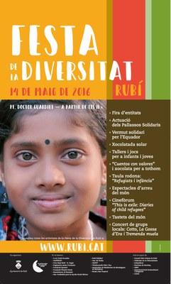 Cartel de la Fiesta de la Diversidad