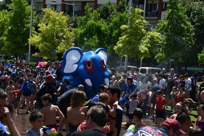 El Correagua es una de las propuestas más refrescantes para los más pequeños (foto: Ayuntamiento - Localpres).