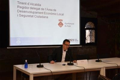 El concejal Rafael Güeto ha cerrado la jornada