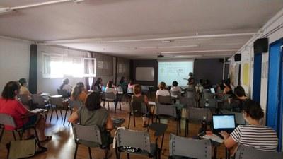 Encuentro del grupo de trabajo de Bienestar Emocional (foto: Ayuntamiento de Rubí).
