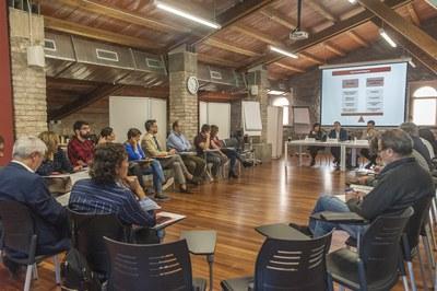 El Consejo General de la TCIR se ha reunido al Foro de la Masía de Can Serra (foto: Cesar Font).