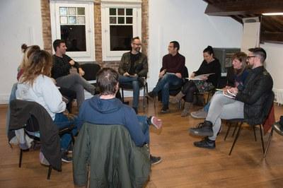 La reunión ha tenido lugar en el Espai Jove Torre Bassas (foto: Localpres).