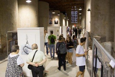 La exposición se puede visitar en la Sala de Tines (foto: Localpres)