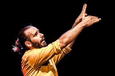 El actor y clown Inda Pereda ofrecerá un taller de teatro gestual (foto: www.indapereda.com).