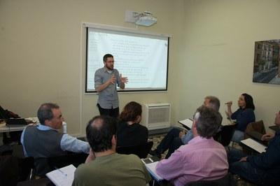 Las sesiones se celebran en el Ateneu (Foto: Localpres).