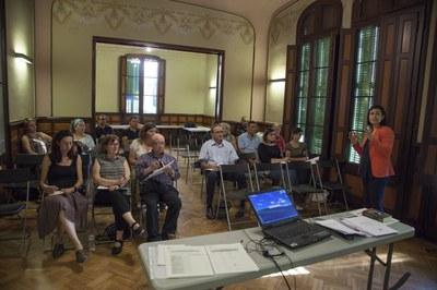 Las sesiones de la OASE se han celebrado en el Ateneu (Foto: Localpres) .
