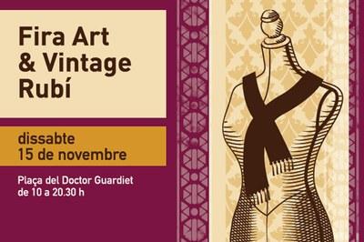 Cartel de la Fira Art & Vintage.