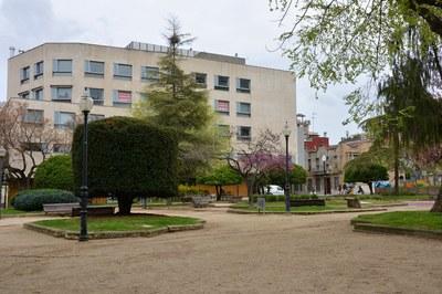 Una de las detenciones se ha realizado en la zona de la pl. Pearson (foto: Ayuntamiento de Rubí).