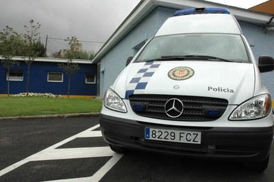 Uno de los vehículos de la flota de la Policía Local.