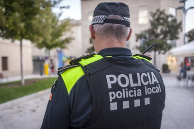 La Policía Local ha centrado parte de su actividad a combatir los efectos de la pandemia (Foto: Ayuntamiento/Localpres).