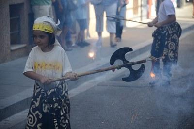El cortejo de Fiesta Mayor (foto: Localpres)