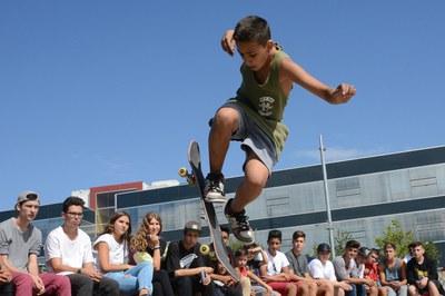Una de las actividades previstas es un skatepark móvil que se instalará en Ca n'Oriol (foto: Localpres).
