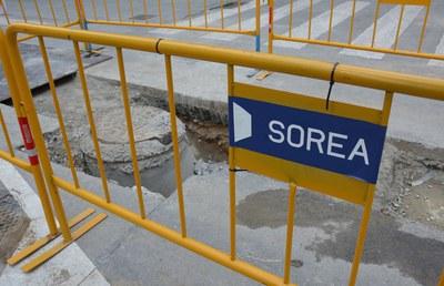Los trabajos van a cargo de Sorea (Foto: Ayuntamiento).
