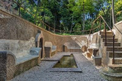 La fuente de Can Moritz se ha recuperado para el disfrute de la ciudadanía (foto: Ayuntamiento de Rubí - Localpres).