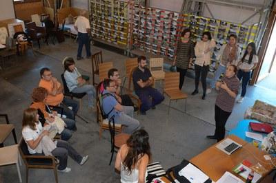 Este miércoles se ha celebrado una sesión informativa y participativa en el edificio Ressò (foto: Localpres).