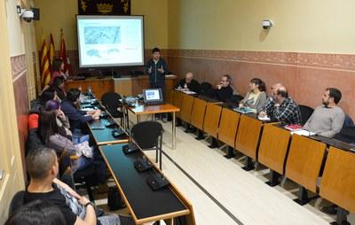 La reunión informativa se ha celebrado este miércoles en el Ayuntamiento (foto: Ayuntamiento de Rubí).