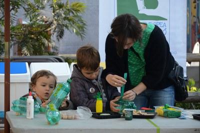 Durante la Semana Europea de Prevención de Residuos se han realizado talleres para la reutilización de residuos (Foto: Localpres).