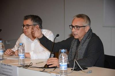 Joan Sendra durante su intervención (Foto: Localpres) .