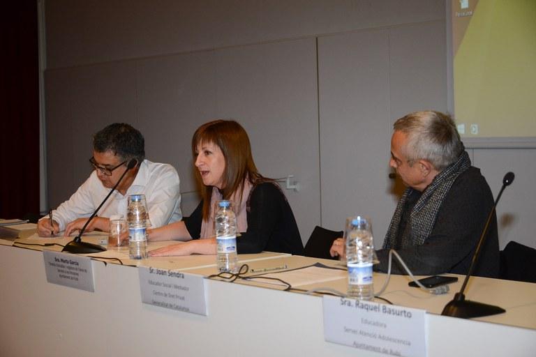 La regidora de Servicios Sociales también ha participado en la iniciativa (Foto: Localpres)