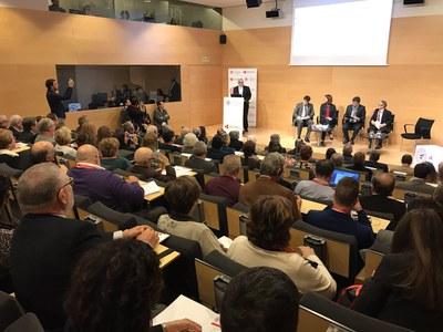 El congreso ha arrancado este miércoles (Foto: Forum de Síndics de Catalunya) .