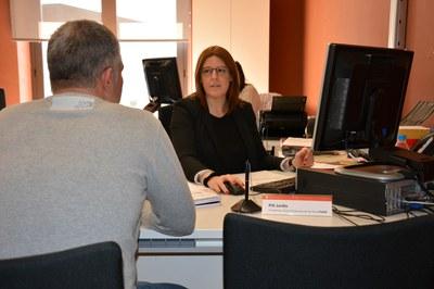 Las personas emprendedoras pueden recibir asesoramiento en la Masía de Can Serra.