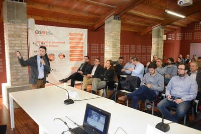 La sesión ha tenido lugar en la Masía de Can Serra (foto: Localpres).