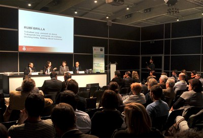 La alcaldesa ha presentado el proyecto Rubí Brilla en varias ocasiones, como en el Smart City Expo World Congress.