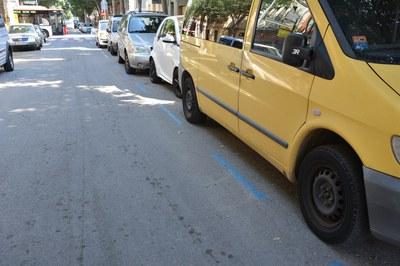 Durante todo agosto, los vehículos podrán aparcar libremente y sin coste tanto en la zona azul como en la naranja.