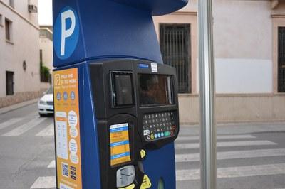 Los parquímetros de la ciudad estarán fuera de servicio hasta el 31 de agosto.