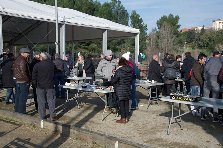 Almuerzo del porteador (foto: Ayuntamiento de Rubí - Localpres)