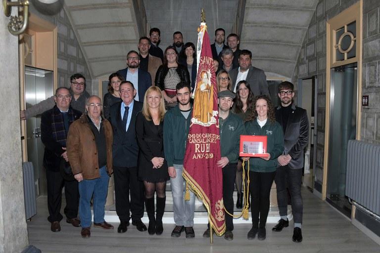 Recepción institucional (foto: Ayuntamiento de Rubí - Localpres)