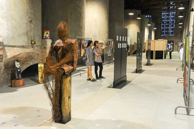 El Peacock Rubí Art Festival se puede visitar en el Celler (foto: Localpres).