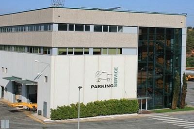 La fuga ha tenido lugar en la empresa Parking Service, situada en el polígono Ca n'Estapé de Castellbisbal (foto: Parking Service).