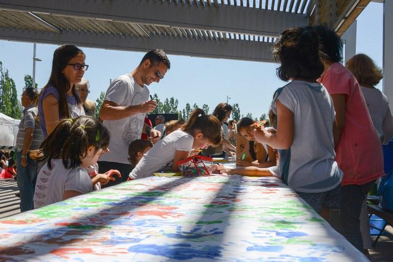 Otro de los talleres para los niños (foto: Localpres)