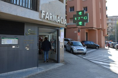 En Rubí hay 19 farmacias que participan en el proyecto (foto: Ayuntamiento de Rubí).
