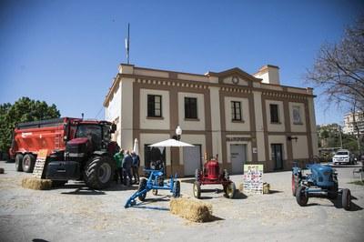 Como cada año, ha habido una muestra de maquinaria agrícola (foto: Ayuntamiento de Rubí - Lali Puig)